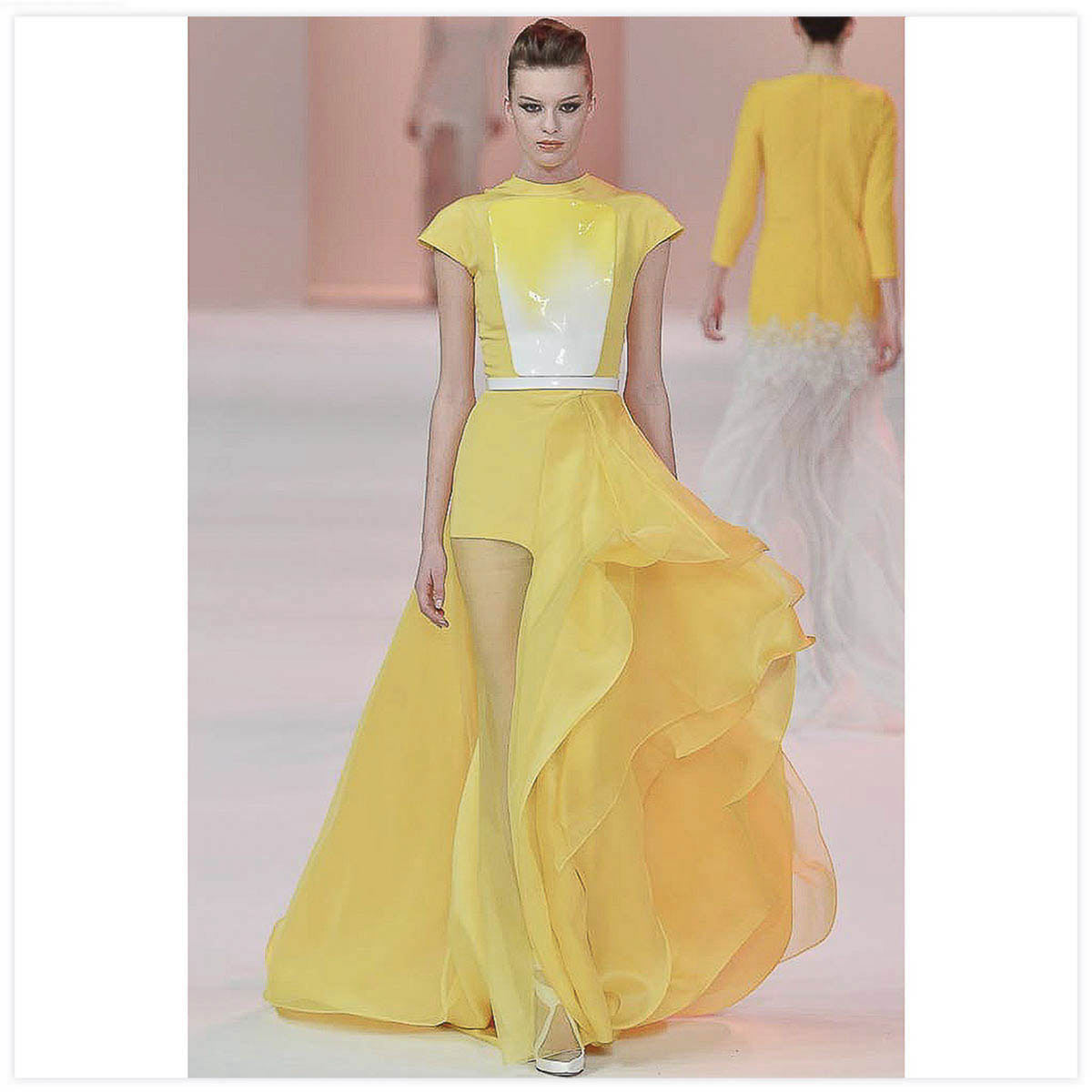 Stéphane Rolland Haute-Couture Défilé 2013 Laque sur plastique