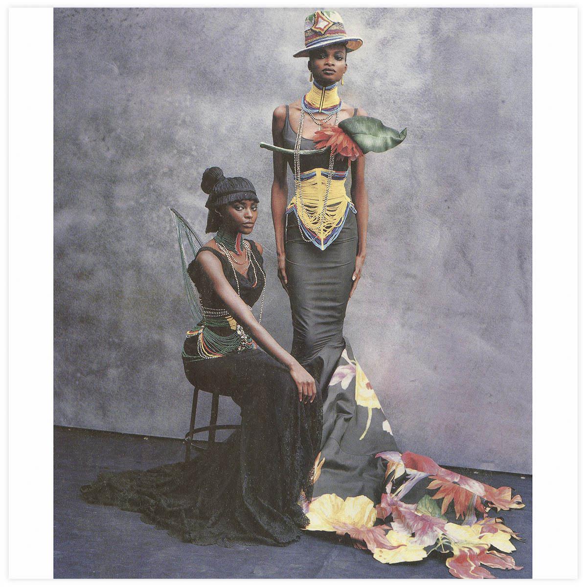 Christian Dior Haute-Couture Défilé 1997 Styliste J. Galliano Aérographe et pinceau sur tissu à plat